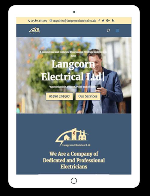 web developer new website