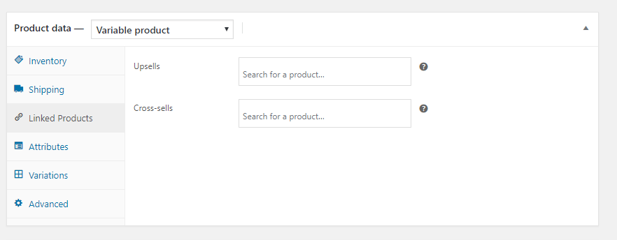 Woocommerce Linked Product Details