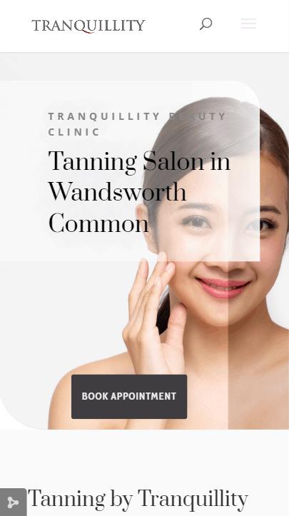 tanning website