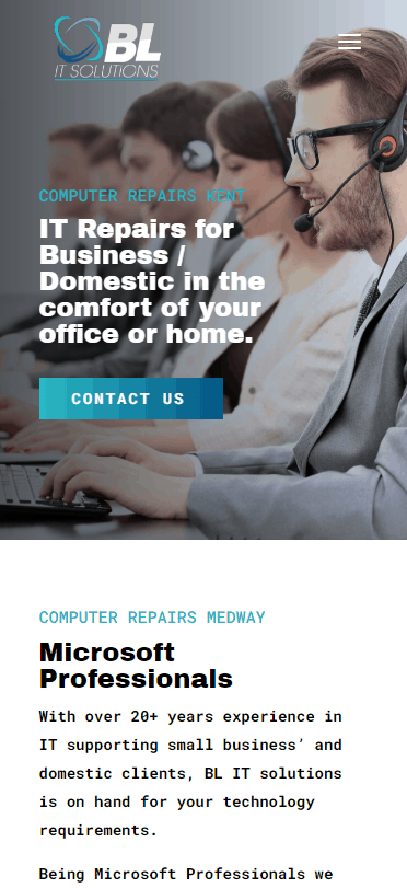 it solutions company web design
