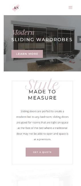 website sussex wardrobe company