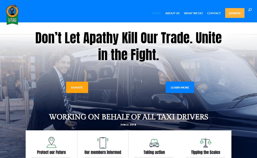 new website for UTAG