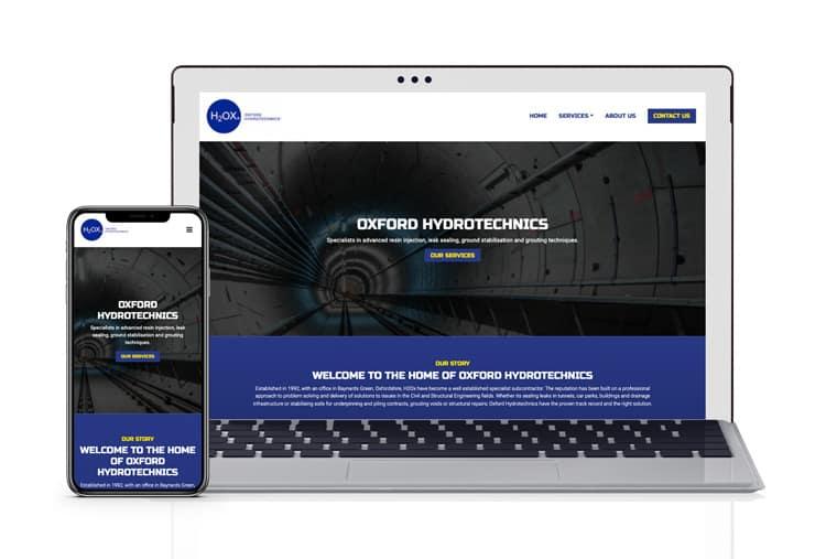 data science web design